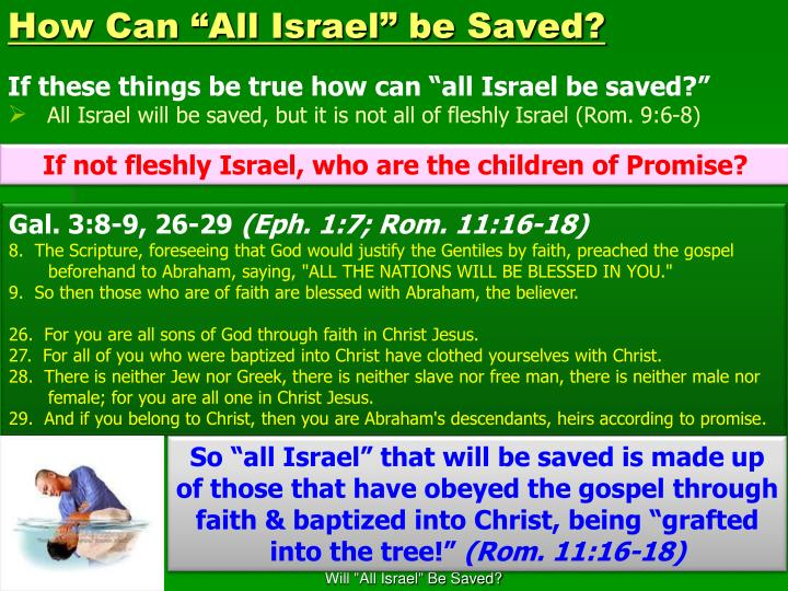 """How Can """"All Israel"""" be Saved?"""