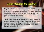 hand clapping for rhythm2