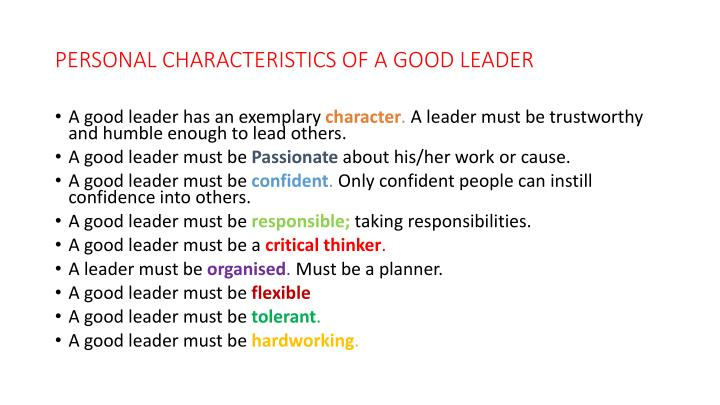 ethical leaders have strong personal character Ethical leaders have strong personal character there is general agreement that ethical leadership is highly unlikely without a strong personal character for example, in 2004 when neville isdell was called out of retirement to improve coca-cola reputation after the company faces ethical crises.