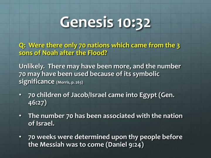 Genesis 10 321