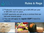 rules regs2