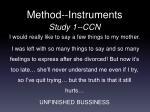 method instruments2