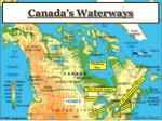 canada s waterways