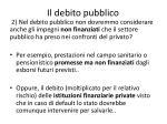 il debito pubblico5