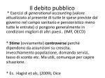 il debito pubblico6