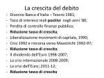 la crescita del debito2