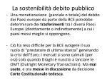 la sostenibilit debito pubblico6