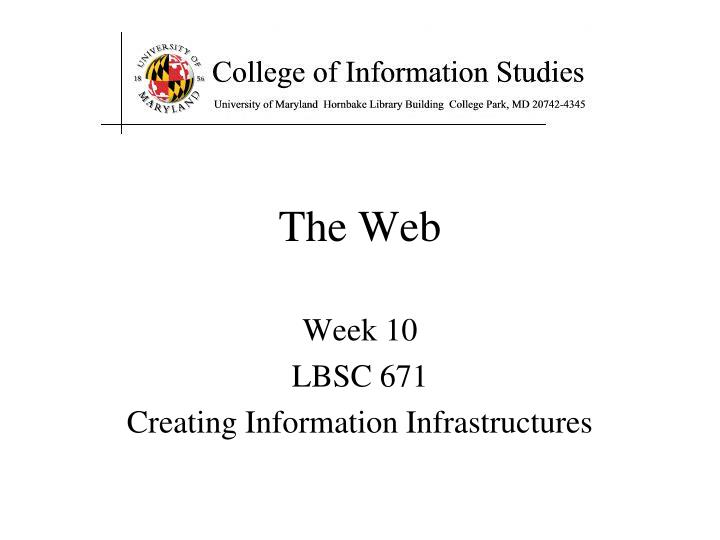 the web n.