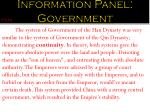 information panel government