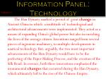 information panel technology