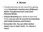 4 renew
