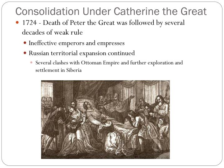 Consolidation Under Catherine the Great