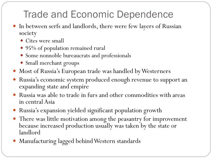 Trade and Economic Dependence