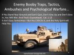 enemy booby traps tactics ambushes and psychological warfare20