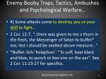 enemy booby traps tactics ambushes and psychological warfare4