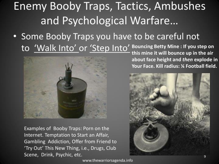 Enemy Booby Traps,