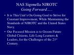nas sigonella njrotc going forward