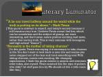 literary luminator