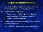 diagnosing mental disorders6