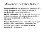 mecanismos de enlace qu mico1