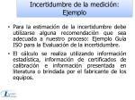 incertidumbre de la medici n ejemplo
