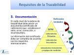 requisitos de la trazabilidad2