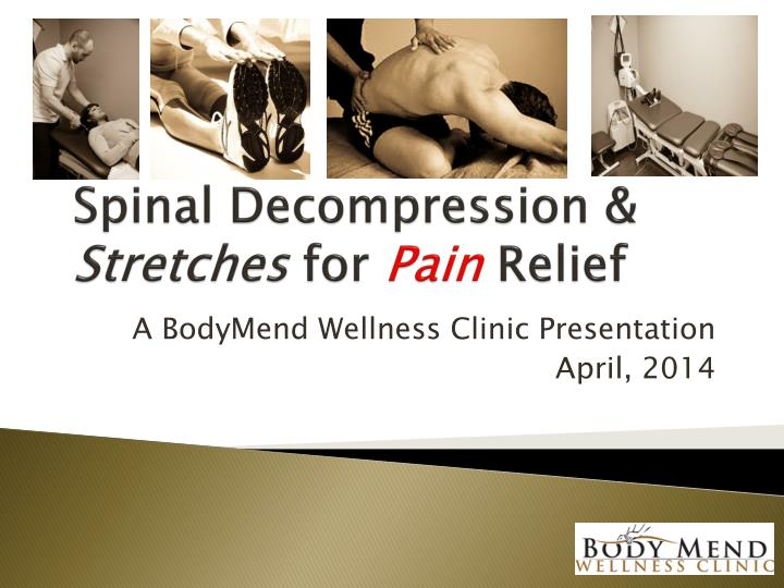 spinal decompression stretches for pain relief n.