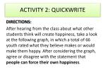 activity 2 quickwrite