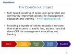 the openscout project