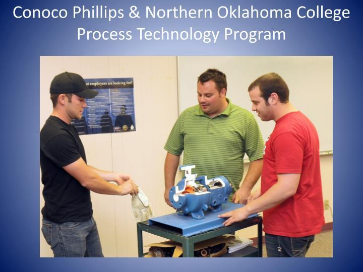 Conoco Phillips & Northern Oklahoma College