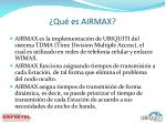 qu es airmax