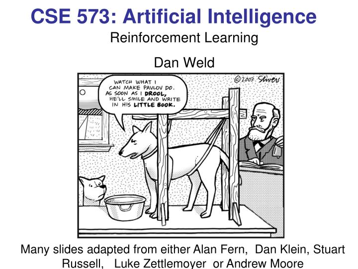cse 573 artificial intelligence n.