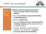 why co coaching