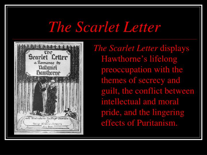 the scarlet letter themes The scarlet letter the nature of evil the nature of sin and the human condition conclusions what evil have i done the man' asked roger chillingworth again (hawthorne 111) many people.