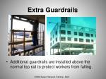extra guardrails