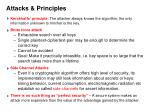 attacks principles