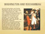 washington and rochambeau