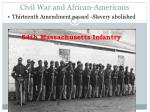 civil war and african americans