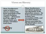 views on slavery