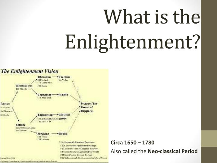 what is the enlightenment n.