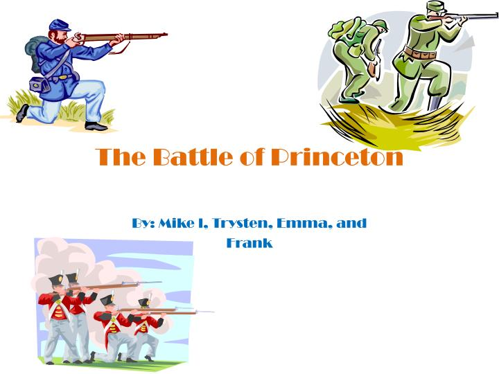 the battle of princeton n.