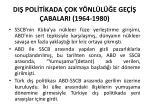 di pol t kada ok y nl l e ge abalari 1964 1980