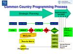 common country programming process