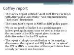 coffey report