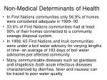 non medical determinants of health