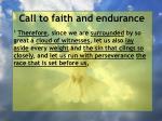 call to faith and endurance10
