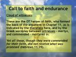 call to faith and endurance11