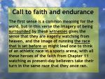 call to faith and endurance14