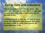 call to faith and endurance17