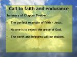 call to faith and endurance2